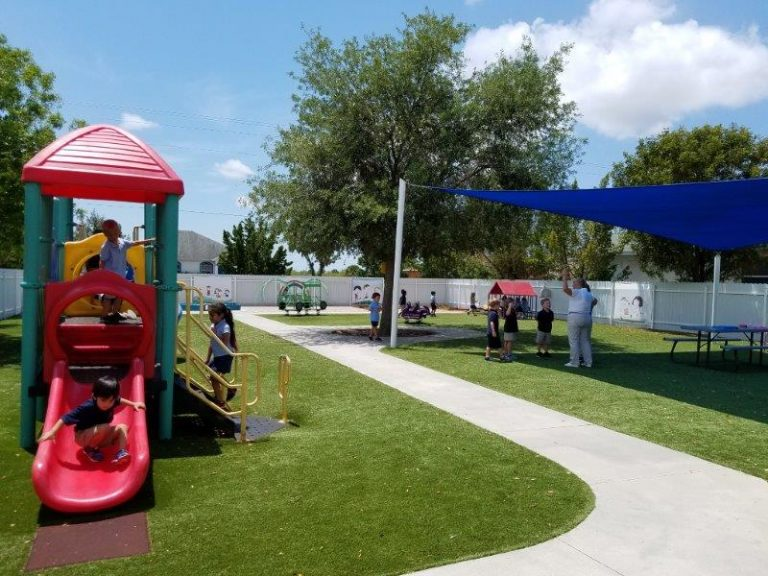 spacious kids world preschool playground