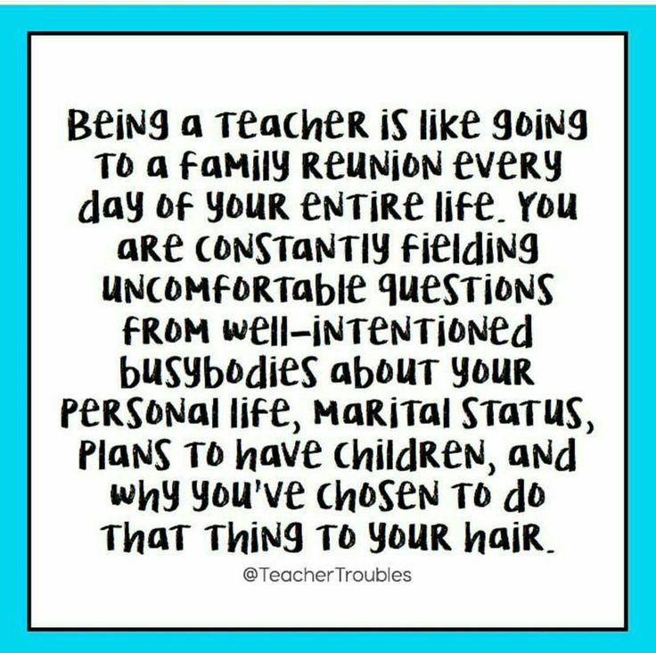being a teacher quote