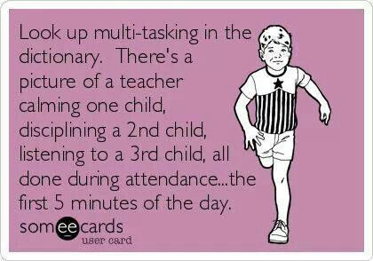 multitasking quote preschool